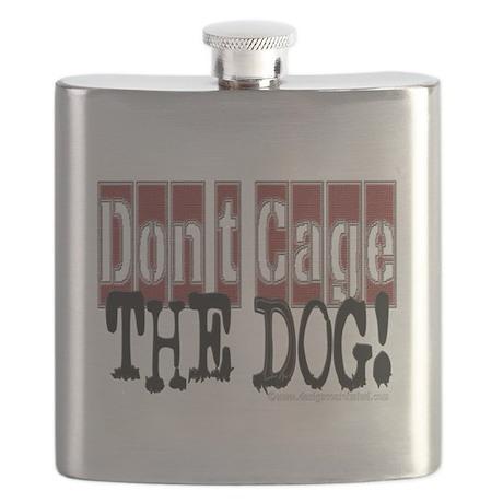 10x10_apparel DONTCAGEDOG copy Flask
