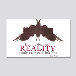 Alan Watts, Reality is a Rorscach Ink-Blot 20x12 W