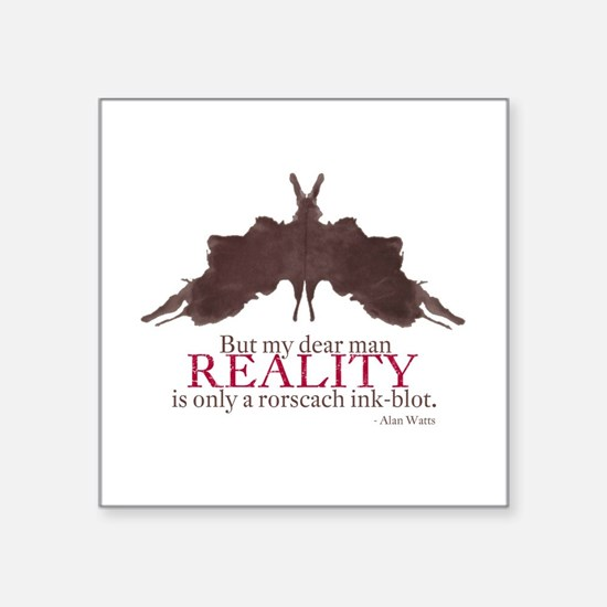 Alan Watts, Reality is a Rorscach Ink-Blot Square