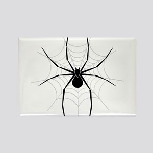 Spider Web Rectangle Magnet