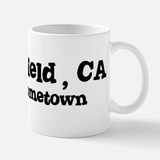 Bakersfield - hometown Mug