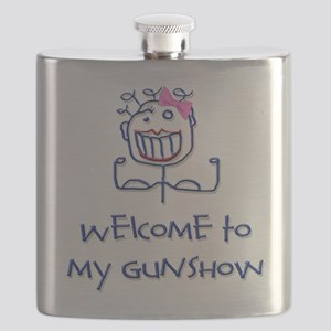Welcome girl png Flask