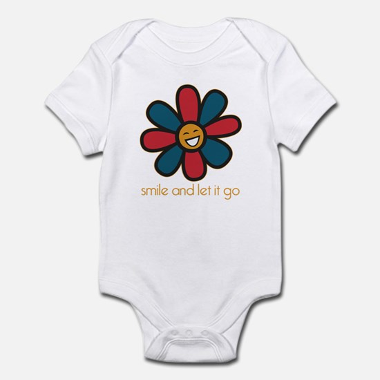 Smile and Let It Go Infant Bodysuit
