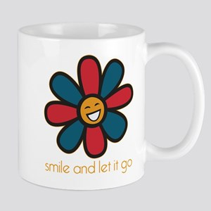 Smile and Let It Go Mug