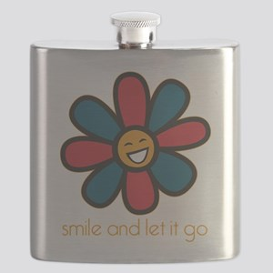 Smile and Let It Go Flask