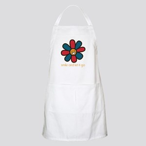 Smile and Let It Go Apron