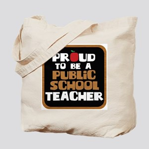 Public School Teacher Tote Bag