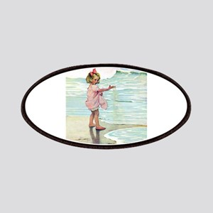 Child at the beach Patches