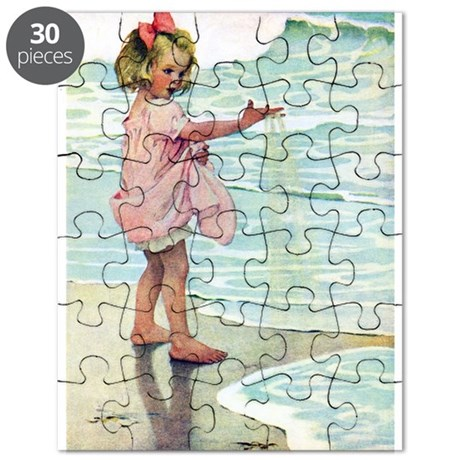 Child at the beach Puzzle
