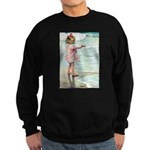 Child at the beach Sweatshirt (dark)