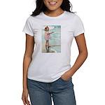 Child at the beach Women's T-Shirt
