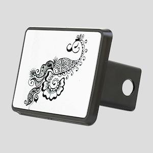 henna Rectangular Hitch Cover