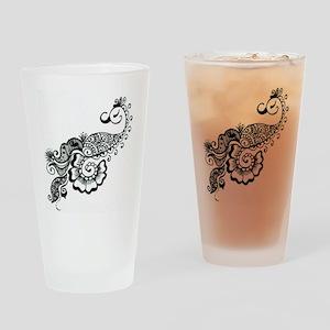 henna Drinking Glass