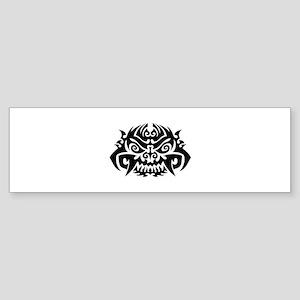 Tribal Face Sticker (Bumper)