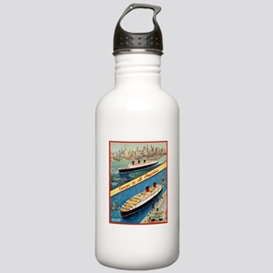 America Travel Poster 3 Stainless Water Bottle 1.0