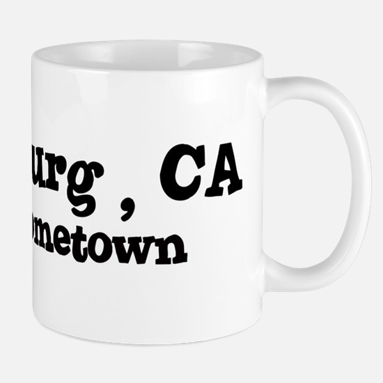Healdsburg - hometown Mug