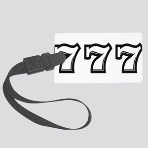 Triple 7s Large Luggage Tag