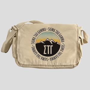 Sigma Tau Gamma Mountains Sunset Messenger Bag
