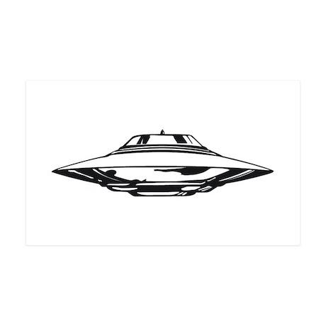 UFO 35x21 Wall Decal