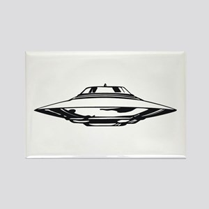 UFO Rectangle Magnet