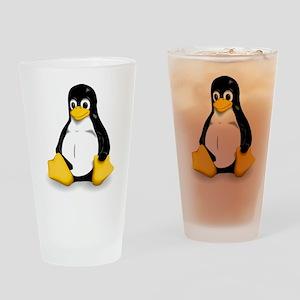 Tux Drinking Glass