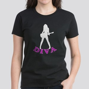 DIVA Girl Women's Dark T-Shirt