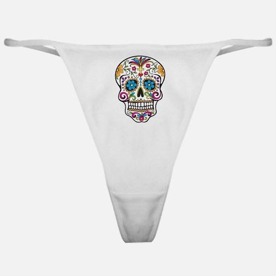 Sugar Skull Classic Thong