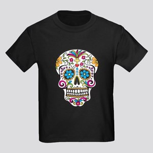 Sugar Skull Kids Dark T-Shirt