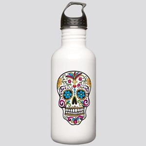 Sugar Skull Stainless Water Bottle 1.0L