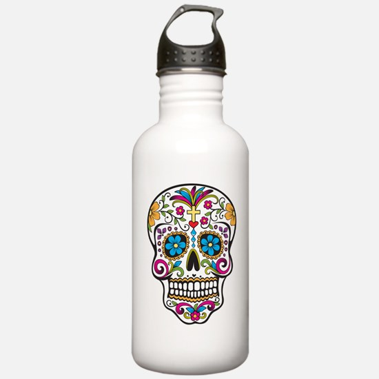 Sugar Skull Water Bottle