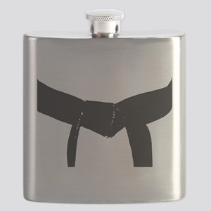 Martial Arts Black Belt Flask