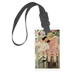 Brother and Sister Large Luggage Tag