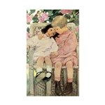 Brother and Sister Sticker (Rectangle 10 pk)
