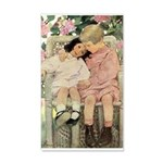 Brother and Sister 20x12 Wall Decal