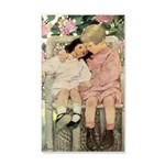 Brother and Sister 35x21 Wall Decal