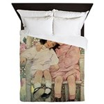 Brother and Sister Queen Duvet