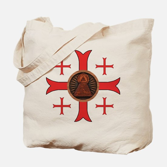 Seal of the Knights of King Solomon Tote Bag
