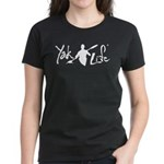 YakLife Logo Black Women's Dark T-Shirt