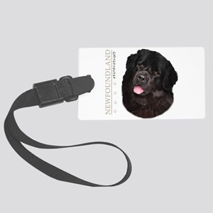 portrait14 Large Luggage Tag