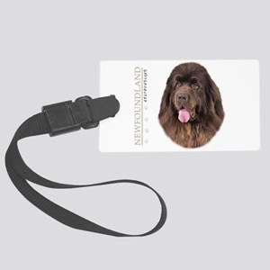 portrait13 Large Luggage Tag
