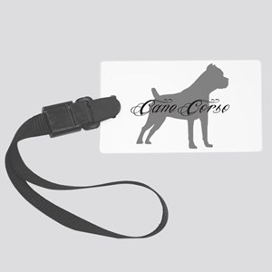 graysilhouette Large Luggage Tag