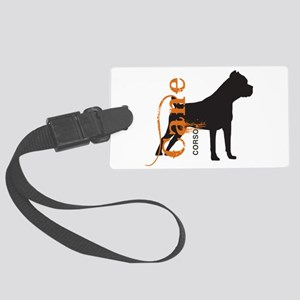 grungesilhouette Large Luggage Tag