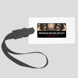 security Large Luggage Tag