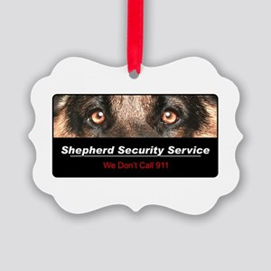 security Picture Ornament
