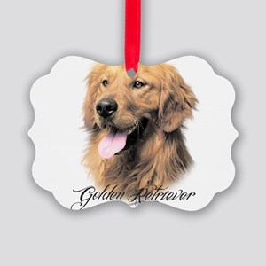 scriptgolden Picture Ornament