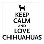 keepcalm.png Square Car Magnet 3