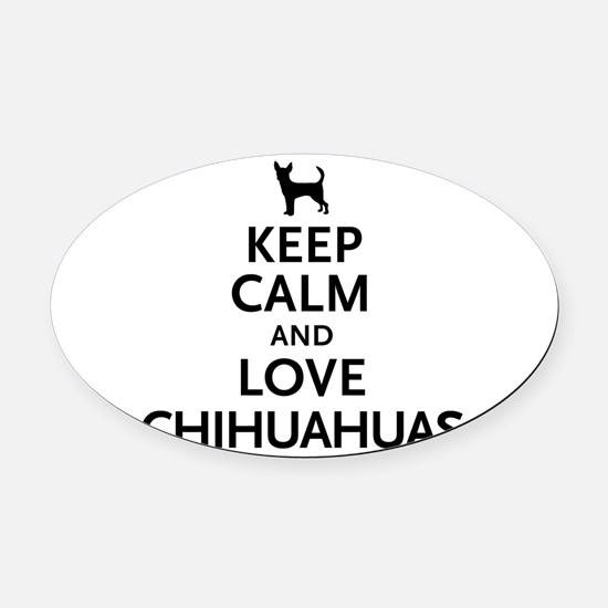 keepcalm.png Oval Car Magnet