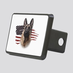 usa Rectangular Hitch Cover