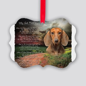 godmadedogs Picture Ornament