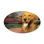 godmadedogs Oval Car Magnet